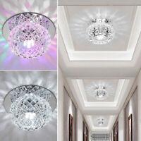 Plafonniers en cristal 5W LED lumière lampe chambre salon enfoncé projecteurs