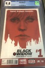 Black Widow #1 CGC 9.8 Agent! Avenger! Assassin! *** Movie Release 2020***