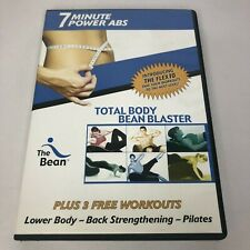 7 Minute Power Abs and Total Body Bean Blaster Flex10 workouts exercise Dvd