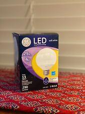 GE Lighting (39732) Decorative Globe w/Frost Finish LED Light Bulb