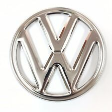 """VW"" EMBLEM FRONT 250mm 4 PRONG BUS 68-72 Stainless Steel VOLKSWAGEN TYPE2 Kombi"