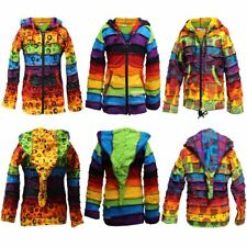 Children Pixie Colorful Hippie Striped Hoodie Hippy Boho Kids Sweater Jacket