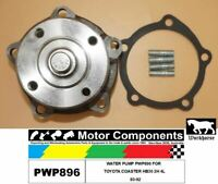 WATER PUMP PWP896 FOR  TOYOTA COASTER HB30 2H 4L  80-92