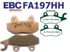 EBC Pastillas Freno FA197HH eje delant. para Honda XR 50 M5 Motard (AD14) 05