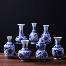 Home Decor Ceramic Flower Vases For Homes Antique Traditional Chinese Blue And W