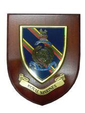 Royal Marines Military Shield Wall Plaque