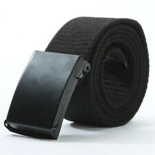 Outdoor Sports Men Military Tactical Nylon Waistband Canvas Web Belts Strap