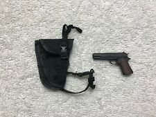 Predator Alan 'Dutch' Drop Leg Holster w/ 45 Pistol 1/6th MMS 72 - Hot Toys