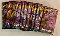 12 Pokemon TCG Card Packs: 12 Unified Minds (2019) Sealed Booster Packs