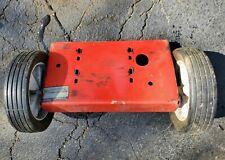 Mtd chipper leaf shredder 243-645B000 engine base wheels 6810184 7341600 5hp