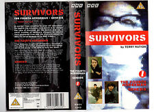 SURVIVORS BY TERRY NATION THE FOURTH HORSEMAN GENESIS BBC RARE-VHS COVER ONLY