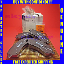 Mercedes-Benz GLK250 GLK350 Front Pads Disc Brake Pad Set w Sensor GENUINE