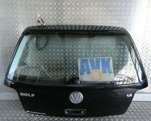 Heckklappe schwarz L041 komplett VW Golf IV 3-Türer