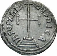 CONSTANTINE VI & IRENE Authentic Ancient Silver Miliareson Byzantine Coin i84924