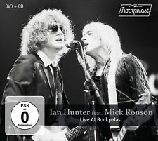 IAN BAND HUNTER/MICK RONSON - LIVE AT ROCKPALAST-1980 +DVD  CD+DVD NEU