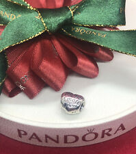 Pandora Silver Languages of Love Charm 791111 Authentic Ale 925 Retired