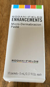 Rodan and + Fields Enhancements Microdermabrasion Paste 10 Packets 5ml Each