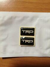 TOYOTA ADESIVO TRD 3D LOGO EMBLEM STICKER DECAL CELICA GTFOUR T20 SUPRA 1JZ 2JZ