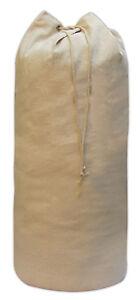 Strong Cotton Stuff Storage Drawstring Bag, Laundry, Stocking With Eyelet