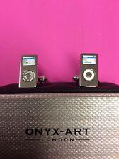 Onyx Art Cuff links NEW & BOXED iPod CK253