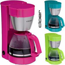 Cloer Kaffeemaschine mit Glaskanne Filter Kaffee Kaffeeautomat 10 Tassen 800Watt