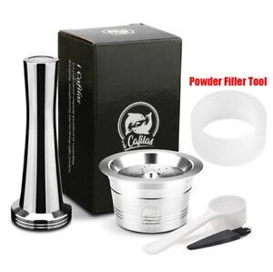 i Cafilas Stainless Steel Coffee Capsule Refillable Pod For K-Fee Espresso ALDI
