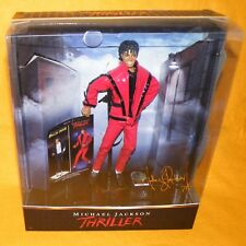 """2010 PLAYMATES TOYS / CHARACTER MICHAEL JACKSON THRILLER 10"""" DOLL FIGURE BOXED"""