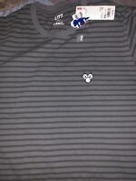 Uniqlo x KAWS 2019 T-Shirt Graphic Summer Companion Striped Print UT Gray XXL