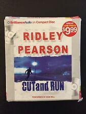 Cut and Run by Ridley Pearson (2009, CD, Abridged)