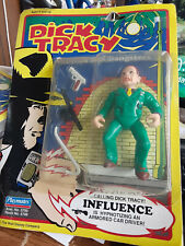 Dick Tracy Playmates Coppers & Gangsters Influence action figure