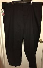 CRAFTSMAN Sears Men's Twill Work Pants BLACK 48x30 NEW Tags Grease Resistant