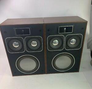 Vintage HI-FI Audiophile Panasonic Thrusters Model SB-700 Speakers