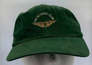 Green San Francisco Olympic Club Adjustable Cap Hat Head Headgear Golf