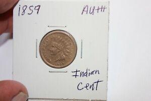 1859   AU+++   INDIAN HEAD CENT