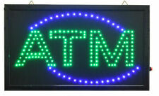 Large Animated Led Atm Led Neon Sign Bright Restaurant Shop Store 20 X 13 037