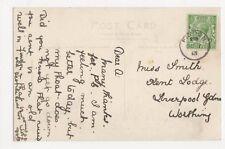 Findon 1913 Postmark on Postcard, B106