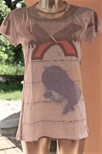 hübsch tee Hemd gedruckt Frau Marithé françois Girbaud Größe 42 fr 46i