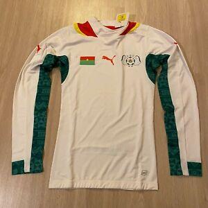 Burkina Faso Away Football Shirt 2013 - 2014 (M) [Puma] Player Version NWT