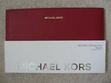 "$80 NEW MICHAEL KORS MK Red Saffiano Leather Sleeve MacBook Air 11"" SBD01403ALUS"