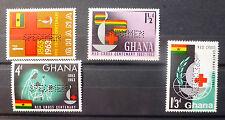GHANA 1963 Red Cross with SPECIMEN Perfin U/M NEW LOWER PRICE FP6462