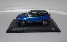 Modellauto Opel Grandland X 1:43 Topas Blau 11023