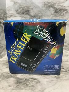 Cobra Traveler Portable Answering and Dictation System New In Box Box Damaged