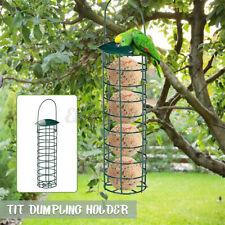 Hanging Bird Feeder Outdoor Iron Grease Ball Holder For Garden Park Yard Feeding