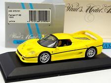 Minichamps 1/43 - Ferrari F50 1995 Gialla