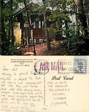 s14452 Camp Golden Valley Girl Scout, Bostic, North Carolina, USA postcard  1981