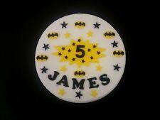 Batman logos gâteau décorations nom, super-héros âge signe stars, super-héros style