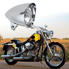 """Chrome Custom Billet 5 3/4"""" Headlight Visor Big Dog Style For Harley Chopper"""