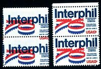EFO 1632 DARK BLUE INK MISREGISTERED SHIFTED TO RIGHT. --TOP STAMP NO VALUE