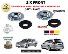 FOR VAUXHALL OPEL VECTRA C 2002-2008  2X FRONT TOP SHOCKER MOUNTING AND BEARING