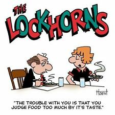 The Lockhorns: The Trouble with You Is You Judge Food Too Much by Its Taste. (Pa